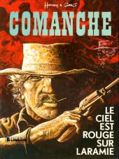 Comanche -4a83- Le ciel est rouge sur Laramie