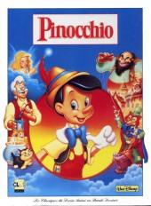 Les classiques du dessin animé en bande dessinée -12- Pinocchio