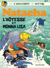 Natacha -7a1987- L'hôtesse et Monna Lisa