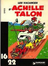Achille Talon (16/22) -214b- Les vacances d'achille talon