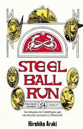 Steel ball run -24- Le drapeau de l'amérique, que ces étoiles brillent pour l'éternité
