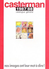 (Catalogues) Éditeurs, agences, festivals, fabricants de para-BD... - Catalogue 1987-88 - Casterman
