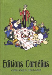 (Catalogues) Éditeurs, agences, festivals, fabricants de para-BD... - Catalogue 2001-2002 - Cornélius