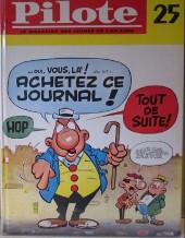 (Recueil) Pilote (Album du journal - Édition française cartonnée) -25- Pilote album du journal