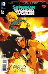 Superman/Wonder Woman (2013) -29- The Final Days of Superman Part 7: Fire Line