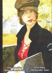 (Catalogues) Ventes aux enchères - Divers - 9th Art gallery - Dimanche 23 octcbre 2016 - 2000 Neuchâtel - Suisse