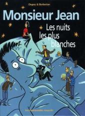 Monsieur Jean -2b- Les nuits les plus blanches