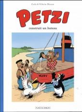 Petzi (Place du Sablon) -1- Petzi construit un bateau