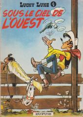 Lucky Luke -4a68'- Sous le ciel de l'ouest