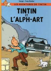 Tintin - Pastiches, parodies & pirates -19g- Tintin et l'Alph-Art