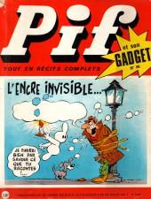 Pif (Gadget) -86- L'encre invisible...