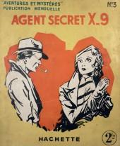 Agent Secret X-9 (Hachette - Aventures et Mystères) -3- Le Val des fantômes