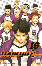 Haikyu !! Les As du Volley -18- Tome 18