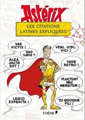 Astérix (Autres) - Les Citations latines expliquées de A à Z