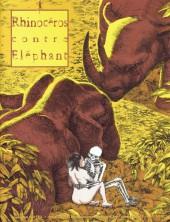 Rhinocéros contre Eléphant -3- Printemps 2002