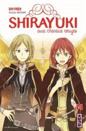 Shirayuki aux cheveux rouges -14- Tome 14