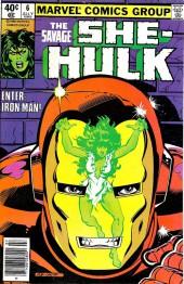 Savage She-Hulk (The) (1980) -6- Enter: The Invincible Iron Man