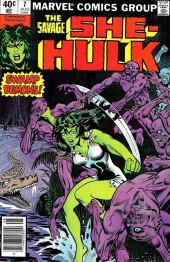 Savage She-Hulk (The) (1980) -7- Swamp Demons!