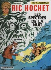 Ric Hochet -12d00- Les spectres de la nuit