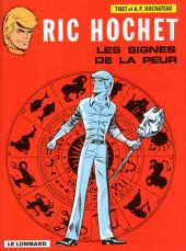 Ric Hochet -19b00- Les signes de la peur