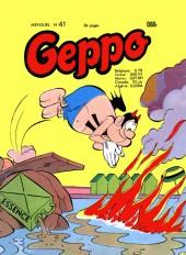 Geppo -41- Geppo dans la brousse