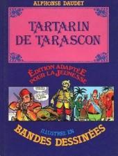 Édition adaptée pour la jeunesse, illustrée en bandes dessinées - Tartarin de Tarascon