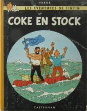 Tintin (Historique) -19B33- Coke en stock