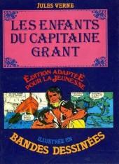 Édition adaptée pour la jeunesse, illustrée en bandes dessinées - Les Enfants du capitaine Grant