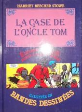 Édition adaptée pour la jeunesse, illustrée en bandes dessinées - La Case de l'oncle Tom