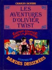 Édition adaptée pour la jeunesse, illustrée en bandes dessinées - Les Aventures d'Olivier Twist