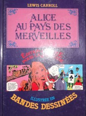 Édition adaptée pour la jeunesse, illustrée en bandes dessinées - Alice au pays des merveilles