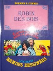 Édition adaptée pour la jeunesse, illustrée en bandes dessinées - Robin des Bois