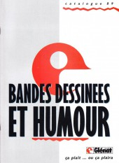 (Catalogues) Éditeurs, agences, festivals, fabricants de para-BD... - Catalogue 1989 - Glénat