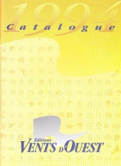 (Catalogues) Éditeurs, agences, festivals, fabricants de para-BD... - Catalogue 1994 - Vents d'Ouest