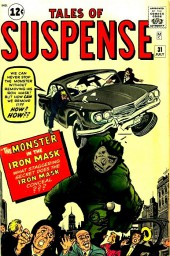 Tales of suspense Vol. 1 (Marvel comics - 1959) -31- The Monster in the Iron Mask!