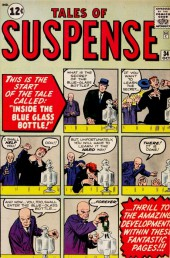Tales of suspense Vol. 1 (Marvel comics - 1959) -34- Inside the Blue Glass Bottle!
