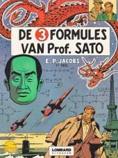 Blake en Mortimer (Lombard Collectie) -10- De 3 formules van professor Sato (deel 1)