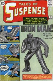 Tales of suspense Vol. 1 (Marvel comics - 1959) -39- Iron Man is Born!
