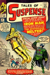 Tales of suspense Vol. 1 (Marvel comics - 1959) -47- Iron Man Battles the Melter!