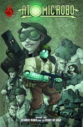 Atomic Robo (2007) - The Dogs of War