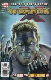 Weapon x (2002) -1- The hunt for sabretooth: part 1