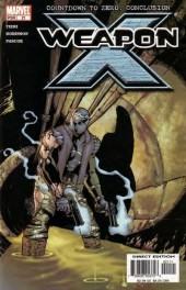 Weapon x (2002) -21- Countdown to zero: conclusion