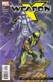 Weapon x (2002) -23- War of the programs 1 of 3