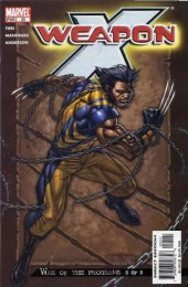 Weapon x (2002) -25- War of the programs 3 of 3