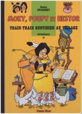 Moky, Poupy et Nestor -21- Train-train quotidien au village