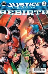 Justice League: Rebirth (2016) -1- Fear the reaper