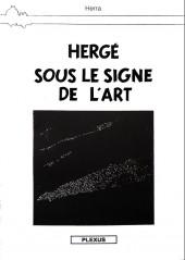 Tintin - Pastiches, parodies & pirates - Hergé sous le signe de l'art