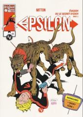 Epsilon -4- Evasion ou le secret d'eden part1