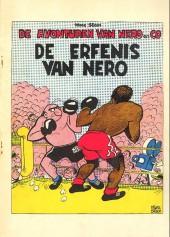 Nero (De Avonturen van) -5- De erfenis van nero