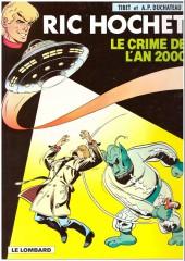 Ric Hochet -50b- Le crime de l'an 2000